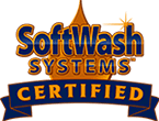 SoftWash Systems for roof cleaning